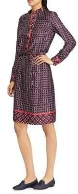 Lauren Ralph Lauren Printed Twill Knee-Length Dress