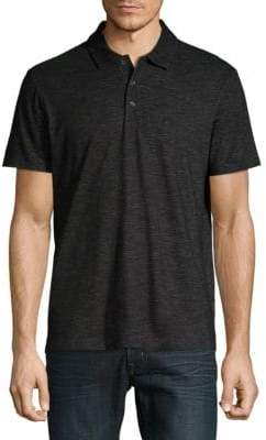Perry Ellis Slub Short-Sleeve Polo