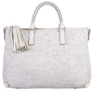 Anya Hindmarch Huxley Woven Leather Tote
