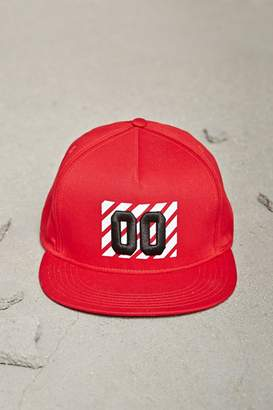Forever 21 Men 00 Graphic Snapback Hat