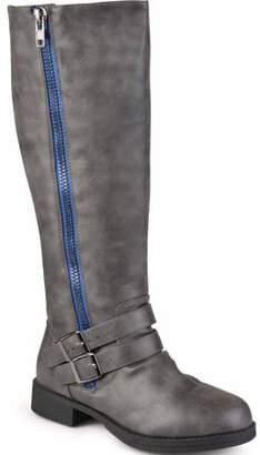 Co Brinley Women's Extra Wide-Calf Knee High Side-Zipper Riding Boots