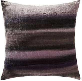 Aviva Stanoff Striped Velvet Pillow