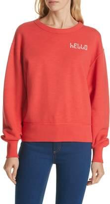 Rag & Bone JEAN Hello Sweatshirt