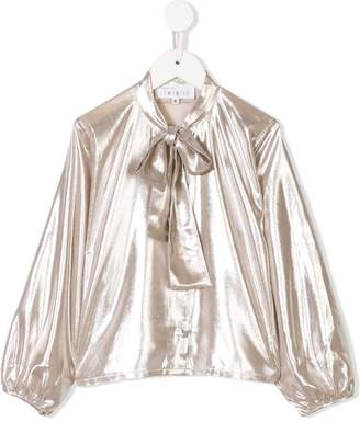 Señorita Lemoniez long-sleeve blouse