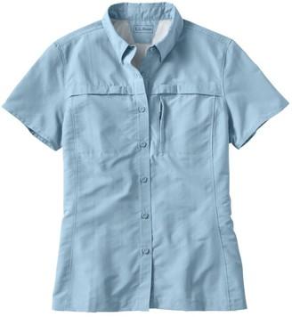 L.L. Bean L.L.Bean Misses' Tropicwear Shirt, Short-Sleeve