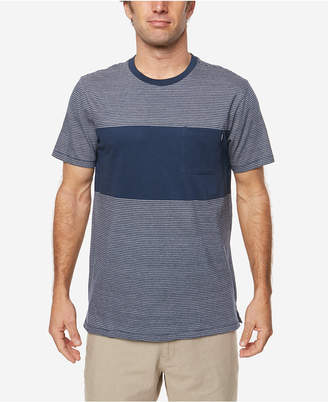 O'Neill Men's Bernard Yarn-Dyed Engineered-Stripe T-Shirt