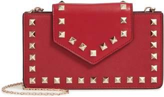 Valentino Rockstud Leather Smartphone Case