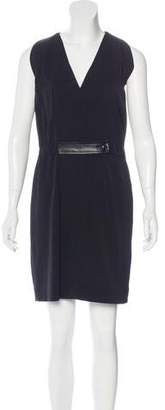 Balenciaga Sleeveless V-Neck Dress