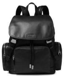Michael Kors Men's Henry Leather Rucksack - Black