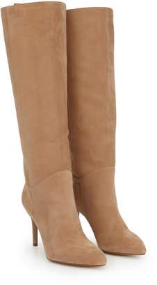 0d61f79e8e7 Camel Knee High Boots Women - ShopStyle