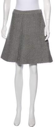 Giorgio Armani Wool & Alpaca-Blend A-Line Skirt