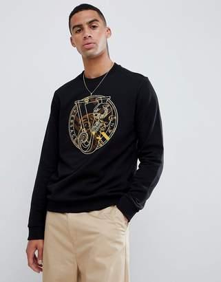 Versace sweatshirt with chest print