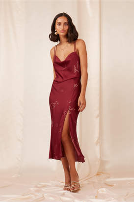 Finders Keepers CRISTINA DRESS cherry sketch
