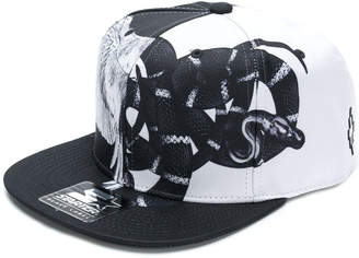 Marcelo Burlon County of Milan graphic print baseball cap