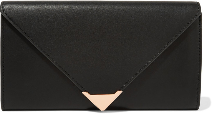 Alexander WangAlexander Wang Prisma leather continental wallet