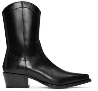DSQUARED2 Black Arizona Boots