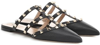 Valentino Garavani Rockstud leather slippers
