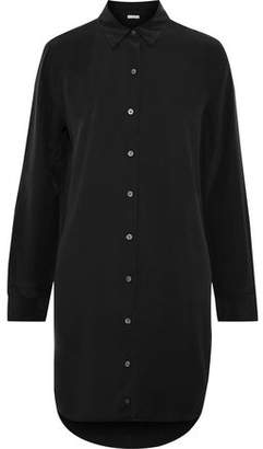 Equipment Essential Washed-silk Mini Shirt Dress