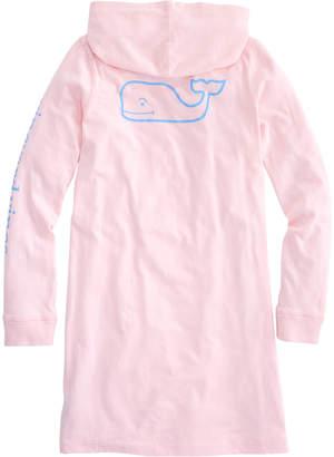 Vineyard Vines Girls Long-Sleeve Whale Hoodie Tee Dress