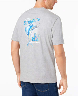 Tommy Bahama Men's The Struggle is Reel Graphic T-Shirt