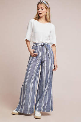 Anthropologie Beachy Wide-Leg Pants