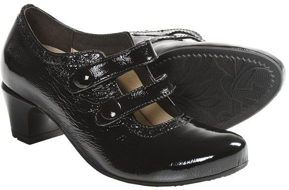Wolky Waltz 2-Strap Shoes - Patent Leather (For Women)