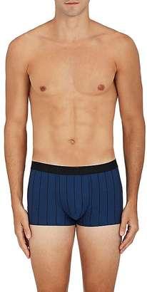 Hanro Men's Pinstriped Cotton-Blend Boxer Briefs $58 thestylecure.com