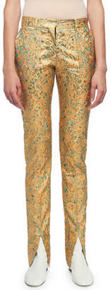 Victoria Beckham Skinny Flat-Front Pants