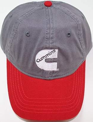 Diesel Cummins Baseball Cap Trucker Hat Truck Gear Embroidered Red Gray