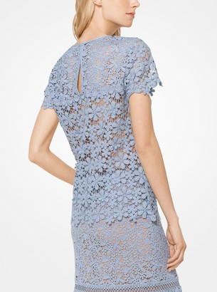 MICHAEL Michael Kors Mixed Floral Lace Top
