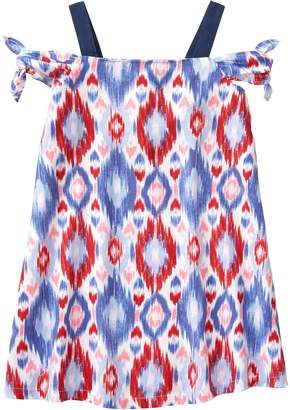 Crazy 8 Crazy8 Toddler Ikat Cold-Shoulder Dress