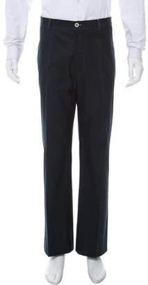 Brunello Cucinelli Flat-Front Chino Pants