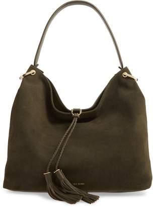 Ted Baker Demmi Double Tassel Leather Hobo