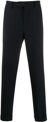 Brunello Cucinelli flannel leisure fit trousers
