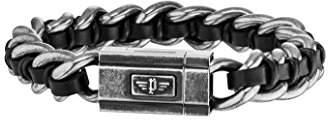 Police Men Stainless Steel Charm Bracelet - PJ26052BSE.01-L