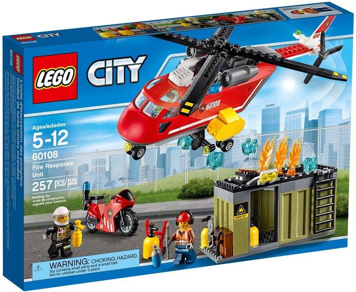 LEGO City Fire Response Unit- 60108