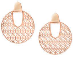 Kendra Scott Diane Door Knocker Earrings w/ Filigree