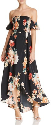 Band of Gypsies Off-the-Shoulder Maxi Dress $89 thestylecure.com