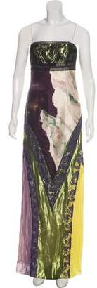 Christian Lacroix Silk Printed Gown