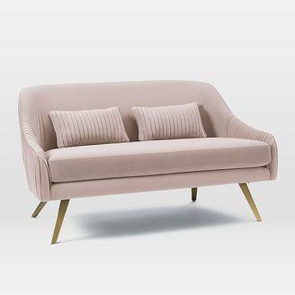 Roar + RabbitTM Glamour Velvet Sofa (60