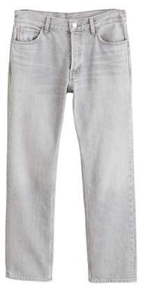 MANGO Sayana organic cotton straight jeans