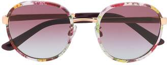 Dolce & Gabbana Eyewear floral print sunglasses