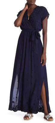 Angie Embroidered Maxi Dress