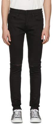 Ksubi Black Van Winkle Slice Jeans