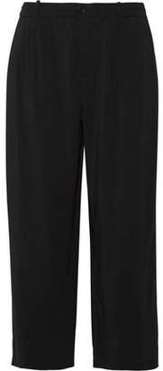 Marni Stretch-Crepe Wide-Leg Pants