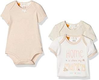 Pumpkin Patch Baby Girls 0-24m 3pk Bodysuit,(Manufacturer Size:6-12M)