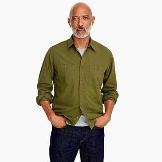 J.Crew Wallace & Barnes cotton-hemp shirt