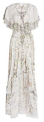 Camilla Women's La Fleur Libertine Crystal Wrap Dress