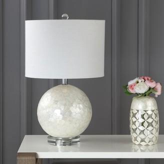 """Mila Louise Mistana Capiz Seashell 24"""" Table Lamp Mistana"""