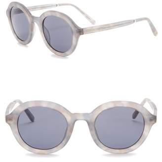 Joe's Jeans 50mm Round Sunglasses
